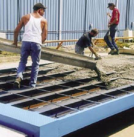 Бетонные автомобильные весы: автовесы с бетонной или железобетонной платформой